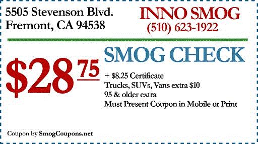 Smog Coupons
